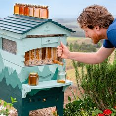 Official Flow Hive 2 Cedar 6 Frame - Langstroth Style Beehive Featuring Our Patented Flow Tech, Suitable for Beginners & Experienced Beekeepers Hive Stand, Harvesting Honey, Bee Hive Plans, Beekeeping For Beginners, Bee Do, Bee Farm, Pest Management, Bees Knees, Bee Keeping