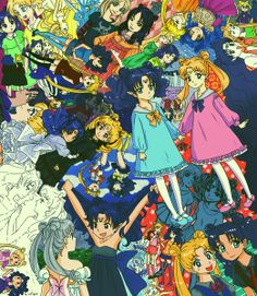Sailor Moon / Usagi and Nehelenia