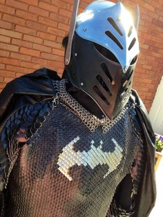 Batman Inspired Scalemaille Suit of Armor