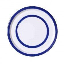 Merci- New online store 24 cm enamelled metal plate