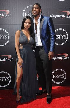 Forget everything - this dress though! More taylor and iman shumpert black love Teyana Taylor & Iman Shumpert — PICS Black Celebrity Couples, Black Love Couples, Celebrity Style, Couple Goals, Cute Couples Goals, Black Celebrities, Celebs, Celebrities Fashion, Kanye West Fade