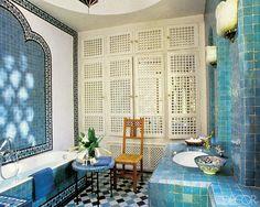 Celebrity Homes: Yves Saint Laurent /Marrakech/
