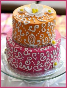 Bollywood- how to make swirl cakes