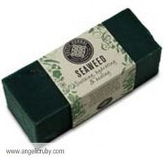 Handmade Seaweed Soap    It is becoming increasingly noted that seaweeds are a source of valuable bioactive ingredients with potential advantages for human health.    From the garden of the sea, we've secured the calming, hydrating and healing qualities of seaweed, this is highly valued in the most expensive spas, we have then created a luxury fragranced soap that helps attract and retain moisture and aid in cell regeneration. £4.50 - 80g + p