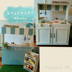 おままごとキッチンの作り方♥ | 成城 二子玉川 他 ママとキッズの為の出張ワークショップサロンcomo?のブログ
