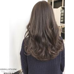 Asian Hair Wavy, Wavy Hair Extensions, Girl Hair Colors, Ulzzang Hair, Permed Hairstyles, Hair Pictures, Hair Highlights, Bridesmaid Hair, Hair Lengths