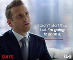 Harvey knows how to get the job done.  Rewatch Season 5 here: http://usanet.tv/SuitsOnline