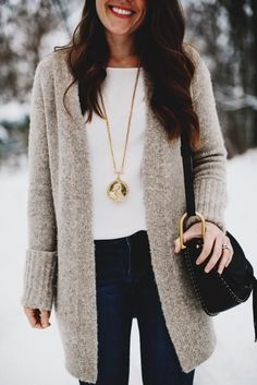 nice 8 ways to add some glam to a basic sweater with jewelry