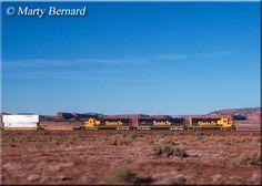 The Santa Fe's Raton Pass A long string of six-axle Electro-Motive units led by work a long intermodal freight over Tehachapi Pass at Bealville, California on October Bnsf Railway, Burlington Northern, Fes, Santa Fe, New Mexico, Illinois, Trains, October