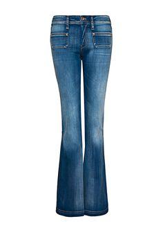 Jeans bolsillo plastrón by MANGO