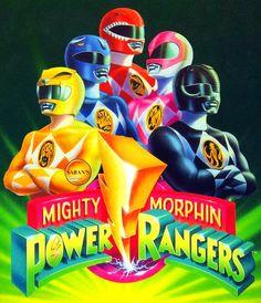 Iconic Power Rangers