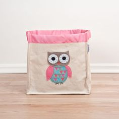 Owl Storage Hamper - Small - $45.95 : Bellas Little Ones  Nursery Australia