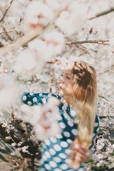 Beautiful girl in a field of flowers Portrait Photography, Fashion Photography, Vintage Photography, Fotografia Macro, Blossom Trees, Cherry Blossoms, Photoshoot Inspiration, Pretty Pictures, In This Moment