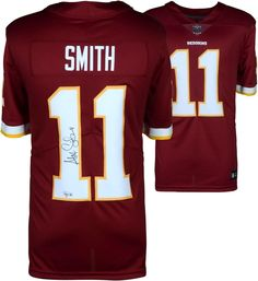 Alex Smith Washington Redskins Autographed Nike Burgundy Limited Jersey   sportsmemorabilia  autograph  football f91b1fcee