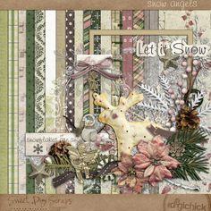 Snow Angels kit by Sweet Digi Scraps