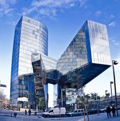 Gas Natural headquarters building – Barcelona, Spain