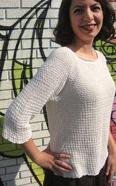 free aran Sweater Knitting Patterns, Knitting Stitches, Knitting Designs, Knit Patterns, Knit Sweaters, Cable Sweater, Summer Knitting, Easy Knitting, Maude