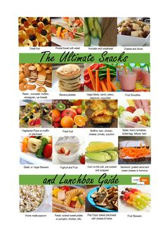 The Ultimate Snacks and Lunchbox Guide. Alison from Undertendollars has put together all her favourite snacks and lunchbox ideas for adults and kids. Check out this easy-to-view one page printable to stick on the fridge, or place inside your pantry for quick and simple options. Hi, I'm Alison and I created Undertendollars because I enjoy sharing... http://www.mumslounge.com.au/lifestyle/family/1632-the-ultimate-snacks-and-lunchbox-guide.html