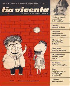 Tía Vicenta, la revista del nuevo humor, año 1, número 21, martes 31 de diciembre de 1957, Landrú