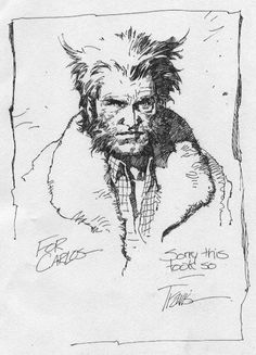 Travis Charest-Wolverine, in CarlosTaylors Collected art Comic Art Gallery Room - 103947