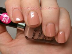 Wet n Wild Megalast Private Viewing Manicure... Nail Polish Swatch and Review