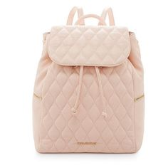 Vera Bradley Amy Quilted Leather Backpack ($258) ❤ liked on Polyvore featuring bags, backpacks, vera bradley bags, vera bradley backpack, rucksack bag, knapsack bags and pink bag