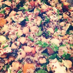 Roast Vegetable  Quinoa Salad In The Office Today!