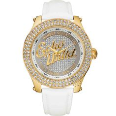 OROLOI.gr - Marc ECKO The Royce White Leather Strap Crystal Ladies