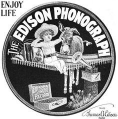 edison phonograph 1901 by Captain Geoffrey Spaulding, via Flickr