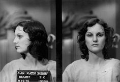 Patti Hearst's mugshot