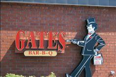 Gates BBQ in Kansas City. The BEST BBQ!
