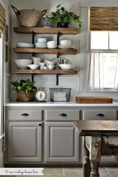 When my husband and I found our perfect little cottage, it came equipped with a sparkly white kitchen. Which I love to no end but often find myself dreaming about cabinets painted a dark navy or a lovely shade of grey. There's a whole world out there of kitchens that are unique and classic without skimping […]