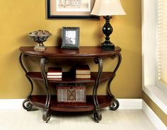 Mellie Transitional Sofa Table