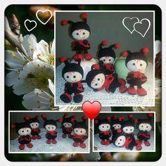 Project by Doris Schlichting #littleowlshut #crochetpattern #amigurumi #amigurumidolls #doll #stelmakhova_galina #crochetpattern #crochetlove #amigurumi #littleowlshut #Patterns #Crochet #etsy #handmade #crochettoys #crocheting #handcrafted #handcraft #knittersofinstagram #crochetaddict #crochetdoll #Stelmakhova #crochetingisfun #craftastherapy #crocheteveryday #crochetlover #amigurumilove #ladybird #ilovecrochet #ladybug #insect