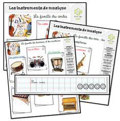 Piccolo Saxo et Cie Piano Teaching, Teaching Art, Teaching Resources, Montessori Classroom, Classroom Activities, Activities For Kids, Kindergarten Lessons, Teaching French, Music Lessons