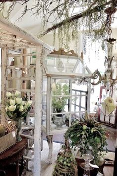 Chic Shabby little greenhouse