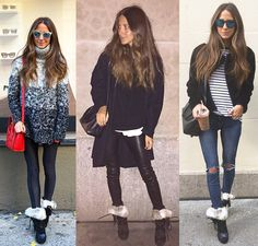 How to wear Isabel Marant's Neta suede and leather ankle boots: runway Vs. street - LaiaMagazine