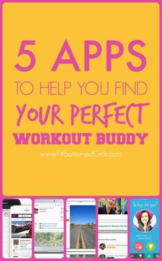 Fit friends are just waiting to meet you ... five apps to help you find your perfect exercise, running or fitness buddy!