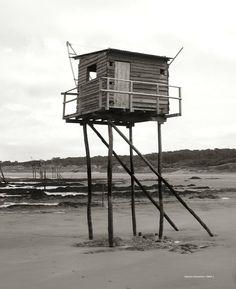 Cabane de pécheur sur la cote bretonne - Pornic, Pays-de-la-Loire