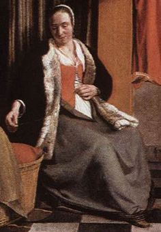This arrangement of fitted bodice sewn to skirts, commonly called a kirtle or petticote bodice, is common among women in the previous century