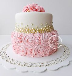 Cake Decorating: How About Birthday Cakes For Adults Pretty Cakes, Cute Cakes, Beautiful Cakes, Amazing Cakes, Unique Baby Shower Cakes, Gateaux Cake, Occasion Cakes, Girl Cakes, Buttercream Cake