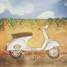La la la.. #painting #passion #inspiration #nostalgia #instagood #vintage