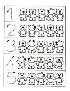 Crafts,Actvities and Worksheets for Preschool,Toddler and Kindergarten.Lots of worksheets and coloring pages. Numbers Preschool, Preschool Learning, Kindergarten Worksheets, Worksheets For Kids, Teaching, English Activities, Preschool Activities, Math For Kids, Math Lessons