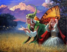 Michael Cheval, 1966 ~ pintor surrealista