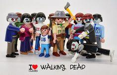 Clicks Playmobil I love Walking Dead