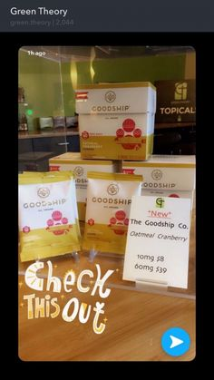 Goodship Co Oatmeal Cranberry Edibles 💚🍫 http://maryjanedeals.io/index.php/deal/ad/edibles,3/goodship-co-oatmeal-cranberry-edibles,60 via our friends at Green-Theory