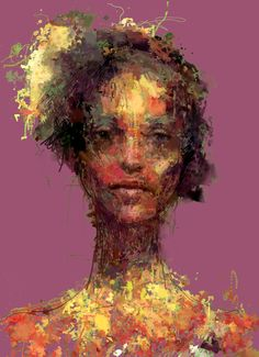 Win your own generative portrait! See my facebook page  Diane - Procedural brush