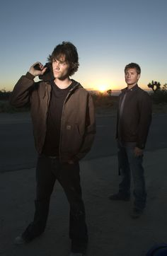 Supernatural!  The hottest boys around!
