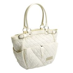 Tippitoes Uptown Changing Bag in Ivory - £29.45