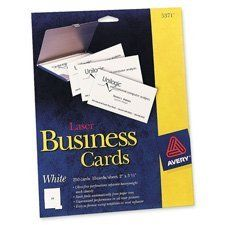 37 best business cards images on pinterest business cards carte avery laser microperforated business cards 2 x 3 12 white pack of cards are ideal for everyday use ultra fine perforations allow you to separate cards reheart Image collections